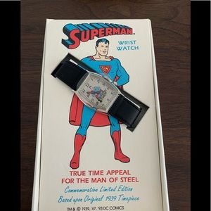 Accessories - Collectible Superman watch new condition